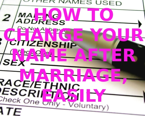 Name change after marriage dmv florida