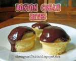 Boston Cream Bites