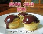 Boston Cream Bites