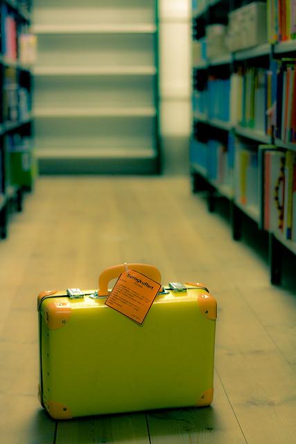"""Photo by Lassa Christensen, """"Suitcase"""""""