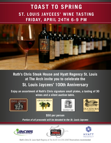 Jaycees 100th Anniversary Wine Tasting