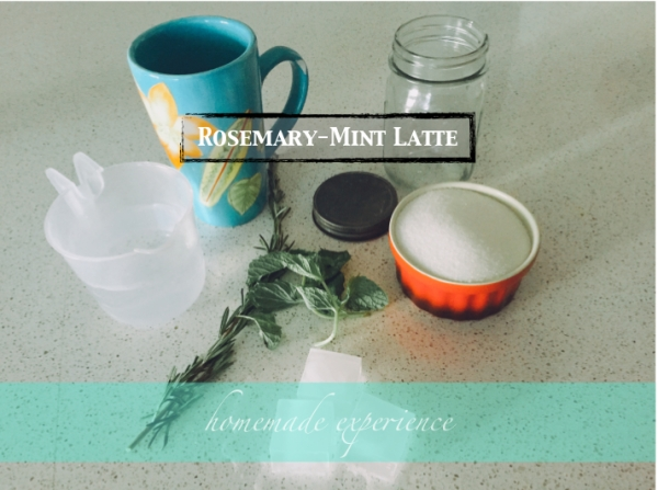 rosemary-mint latte